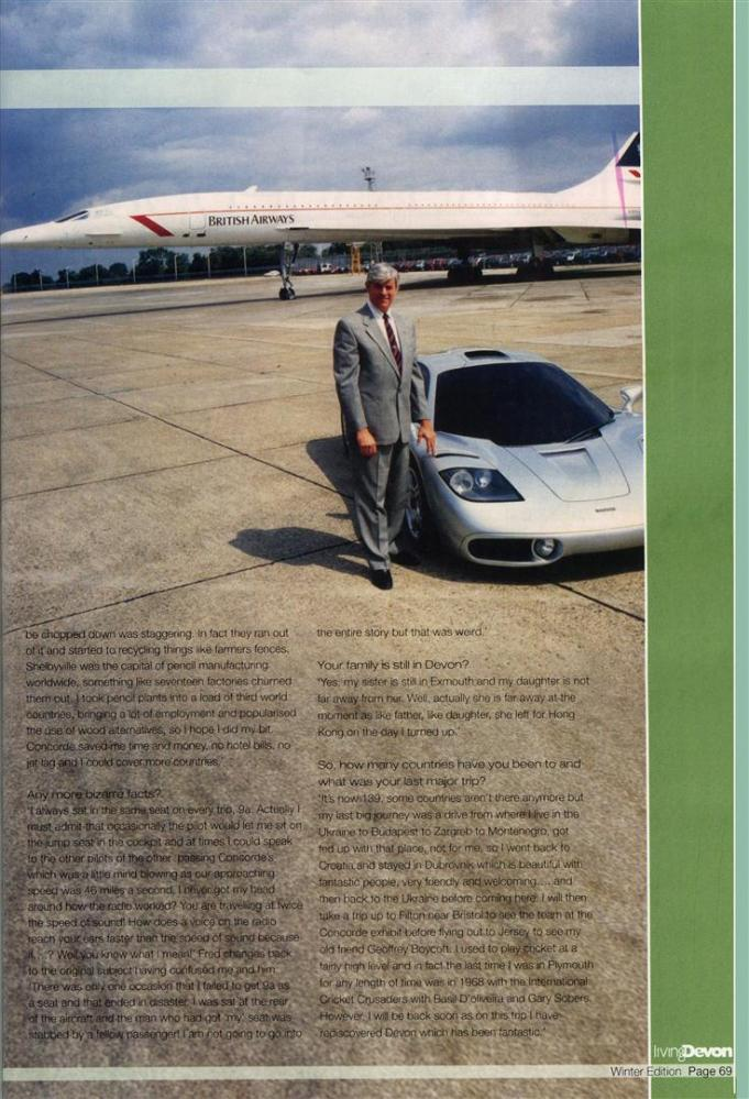 Blue Sky Thinking: A Chat with an Aviation Legend