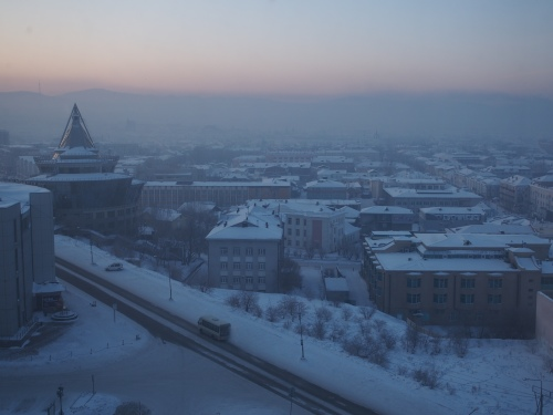 Ulan-Ude city Buryatia Siberia