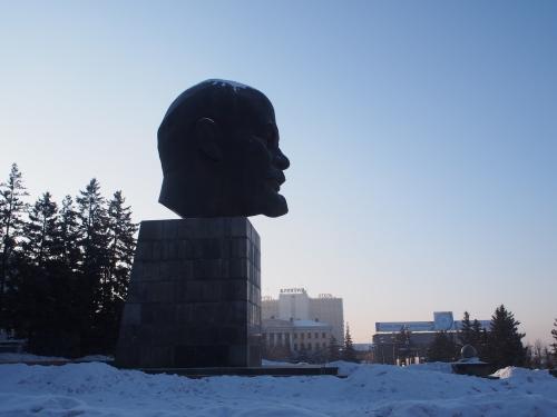 Lenin statue Ulan-Ude